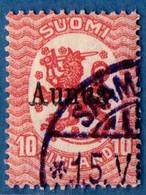 Finland Suomi Aunus 1919 10 Pen 1 Val Cancelled  2009.2039 - Finlande