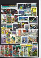 1 Lot De 100 Timbres Divers - Collezioni (senza Album)