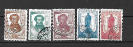 URSS - 1937 - N. 590c-591a-592/94 USATI (CATALOGO UNIFICATO) - 1923-1991 URSS