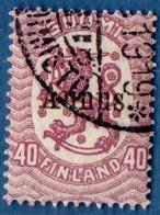 Finland Suomi Aunus 1919 40 Pen 1 Val Cancelled  2009.2041 - Finlande