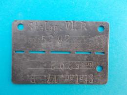 Belgique   Médaille  1940-1945  STALAG . VI . PNC . 5292 - Altri
