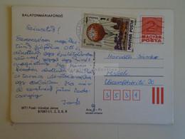 D173749  Hungary Postal Stationery Entier -Ganzsache - 2 Ft Nr. 870911/1,2,3,6,8 Balatonmáriafürdő - Interi Postali