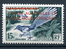 T. A. A. F N°1 ** TIMBRE DE MADAGASCAR DE 1954 SURCHARGE EN ROUGE - Nuevos
