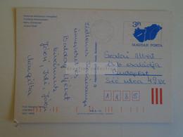 D173753  Hungary Postal Stationery Entier -Ganzsache - 3 Ft Nr. 1232/893 - Interi Postali