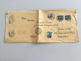 K9 Polen 1930 R-Brief Von Jaraczew Nach Berlin - 1919-1939 Republic