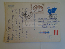 D173758  Hungary Postal Stationery Entier -Ganzsache - 3 Ft Nr. MT.--8/892   VELENCEI-TÓ - Interi Postali