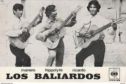 S21- GROUPE LOS BALIARDOS SIGNATURE DE RICARDO - DEDICACEE -  AUTOGRAPHE  - GITANS - 2 SCANS - Cantantes Y Músicos
