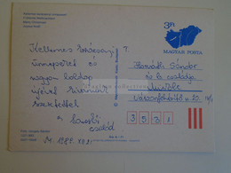D173759  Hungary Postal Stationery Entier -Ganzsache - 3 Ft Nr. 1221/893 - Interi Postali