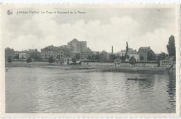 Jambes-Namur - La Plage Et Boulevard De La Meuse - Namur