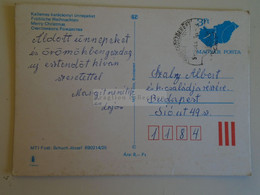 D173760  Hungary Postal Stationery Entier -Ganzsache - 3 Ft Nr. 890214/25 - Interi Postali