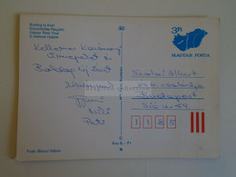 D173761  Hungary Postal Stationery Entier -Ganzsache - 3 Ft Nr.--- Fotó Bérczi    -BUÉK - Interi Postali