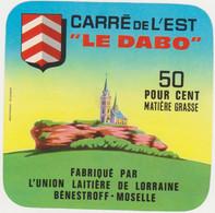 ETIQUETTE  DE CARRE DE L'EST 10 X 10    LE DABO BENESTROFF 57 - Cheese