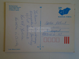 D173762  Hungary Postal Stationery Entier -Ganzsache - 3 Ft Nr.--- Fotó Bérczi    -New Year Card - Interi Postali