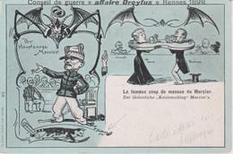 CPA. CONSEIL DE GUERRE .AFFAIRE DREFUS RENNES 1899. - Personajes