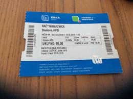 "Ticket D'entrée * ""RAČUN/ULAZNICA - KRKA - PARKOVI HRVATSKE"" (Croatie) - Tickets - Vouchers"