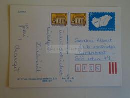 D173770  Hungary Postal Stationery Entier -Ganzsache - 5 Ft Nr.  890907/ 2,3,5   880513/1 ZÁNKA - Interi Postali