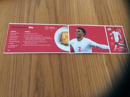 Autocollant, Sticker Carrefour «N°18 - Shepherd's Pie (recette) / TRENT ALEXANDER-ARNOLD (football)» 3 Pièces - Vignettes Autocollantes