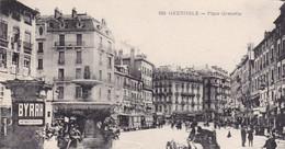 38 /GRENOBLE / PLACE GRENETTE / TRES BEAU PLAN PUB BYRRH - Grenoble