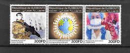 TIMBRE NEUF DE DJIBOUTI DE 2020  COVID - Djibouti (1977-...)