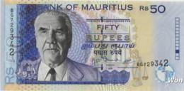 Mauritius 50 Rupees (P50e) 2009 -UNC- - Mauritius