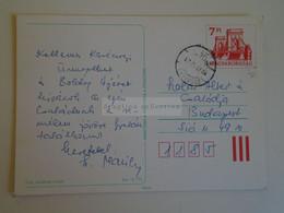 D173777  Hungary Postal Stationery Entier -Ganzsache - 7 Ft   Nr. PRINTORG Champagne - Interi Postali