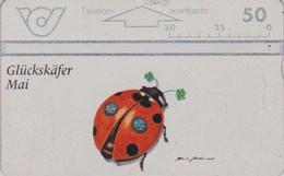 Télécarte L&G Autriche - ANIMAL - COCCINELLE  - LADYBIRD Austria Phonecard - MARIENKÄFER - 31 - Coccinelle