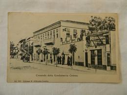 Carte Postale Grèce Crète. Gendarmerie. - Greece