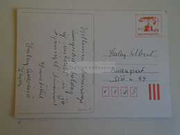 D173787  Hungary Postal Stationery Entier -Ganzsache - 10  Ft   PRINTORG - Interi Postali