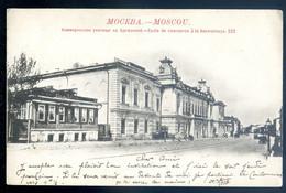Cpa De Russie Moscou  Ecole De Commerce à La Basmannaya    SE20-4 - Russia