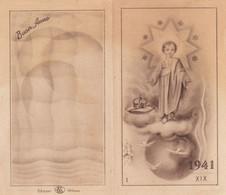 Calendarietto Tascabile Gesu' Bambino- Anno 1941 - Petit Format : 1941-60