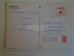 D173798  Hungary Postal Stationery Entier -Ganzsache - 10  Ft   MTI - Gehring Photo - Interi Postali