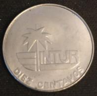 """CUBA - 10 CENTAVOS 1981 - INTUR - KM 414 - ( Sans """"10"""" - Without """"10"""" ) - Cuba"""