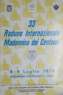 Motociclismo 33^ Raduno Internazionale - Madonnina Dei Centauri 8/9 Luglio 1978 - Boeken, Tijdschriften, Stripverhalen