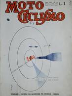 Rivista Motociclismo N. 45 - Le Stazione Di Rifornimento - 10 Novembre 1938 - Boeken, Tijdschriften, Stripverhalen