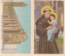 Calendarietto Tascabile S.antonio Di Padova - Anno 1952 - Petit Format : 1941-60