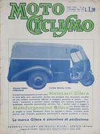 Rivista Motociclismo N. 45 - 7 Novembre 1940 - Boeken, Tijdschriften, Stripverhalen