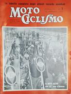 Rivista Motociclismo N. 1 - 10 Gennaio 1958 - Boeken, Tijdschriften, Stripverhalen