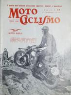 Rivista Motociclismo N. 13 - 29 Marzo 1958 - Boeken, Tijdschriften, Stripverhalen