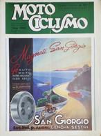Rivista Motociclismo N. 2 - 15 Gennaio 1948 - Boeken, Tijdschriften, Stripverhalen