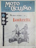 Rivista Motociclismo N. 27 - 9 Luglio 1955 - Boeken, Tijdschriften, Stripverhalen