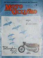 Rivista Motociclismo N. 2 - 17 Gennaio 1959 - Boeken, Tijdschriften, Stripverhalen