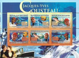 GUINEA REPUBLIQUE 2007 JACQES-YVES COUSTEAU - Esploratori
