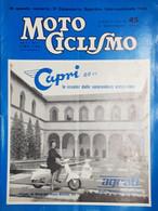 Rivista Motociclismo N. 45 - 5 Novembre 1960 - Boeken, Tijdschriften, Stripverhalen