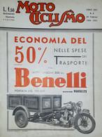 Rivista Motociclismo N. 8 - 20 Febbraio 1936 - Boeken, Tijdschriften, Stripverhalen
