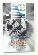 Italia - Tessera Telefonica Da 2.000 Lire N. 2 - Hockey Su Ghiaccio - Bilingue - Sport