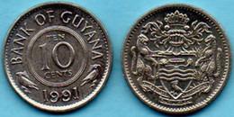 GUYANA  10 Cent 1991 - Guyana