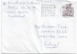Germany , 1994 , HANS SACHS , Poet , Berlin Mechanical Postmark GEORGE GROSZ - Scrittori
