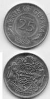 GUYANA  25 Cents  1989 - Guyana