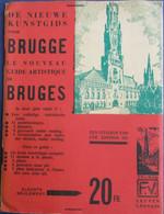 De Nieuwe Kunstgids Voor Brugge  - Met Stadsplannetje - Livres, BD, Revues