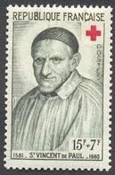 France N°1187 Neuf ** 1958 - Unused Stamps
